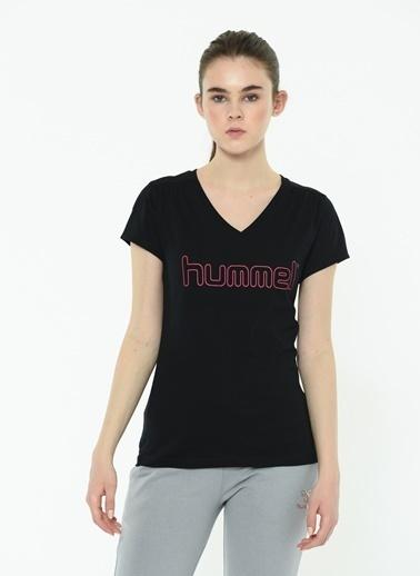 Hummel Kadın Agoptos Tişört 911096-2001 Siyah